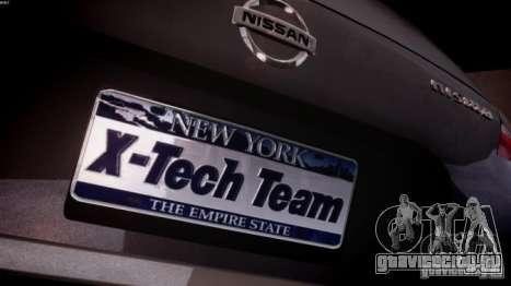 Nissan 370Z Final для GTA 4 вид изнутри