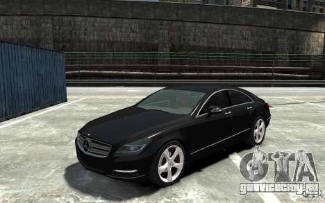 Mercedes-Benz CLS 350 для GTA 4