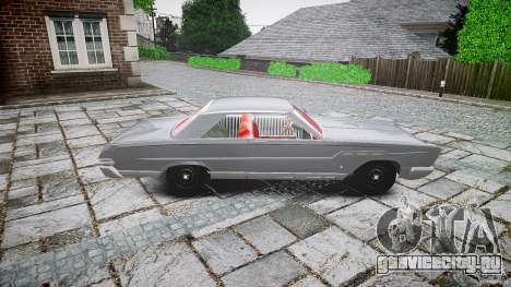 Ford Mercury Comet Caliente Sedan 1965 для GTA 4 вид изнутри