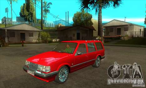 Volvo 945 Wentworth R with bodykit (1.2) для GTA San Andreas вид изнутри