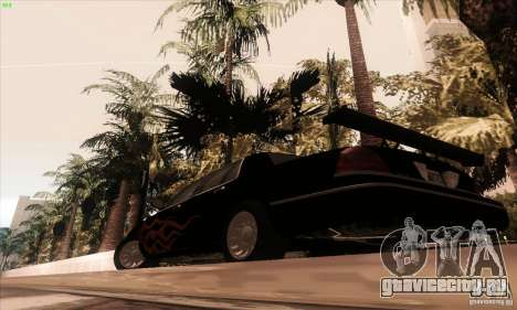 Ford Crown Victoria 2003 для GTA San Andreas вид снизу