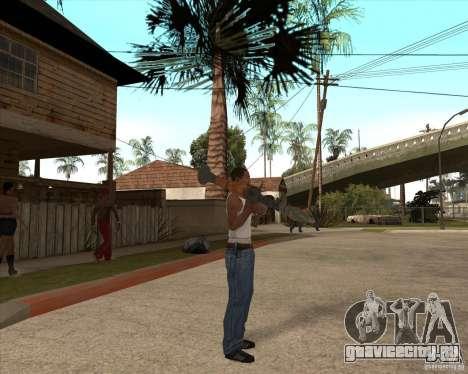 CoD:MW2 weapon pack для GTA San Andreas шестой скриншот