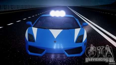 Lamborghini Gallardo LP560-4 Polizia для GTA 4 колёса