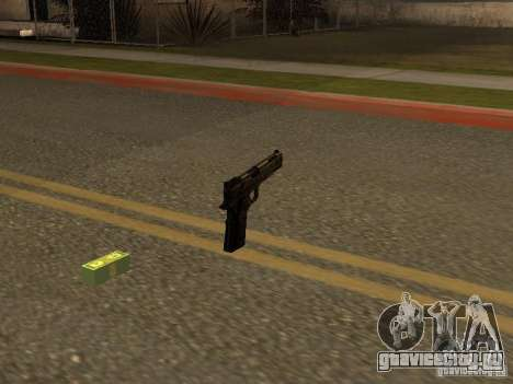 Пистолет 9mm для GTA San Andreas второй скриншот