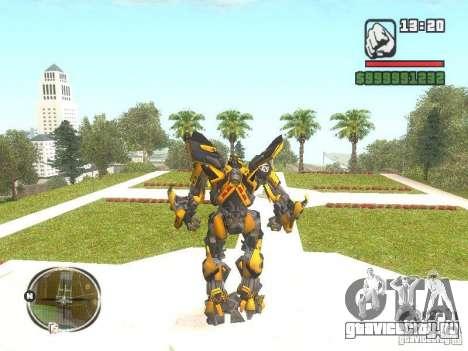 Bumblebee 2 для GTA San Andreas второй скриншот