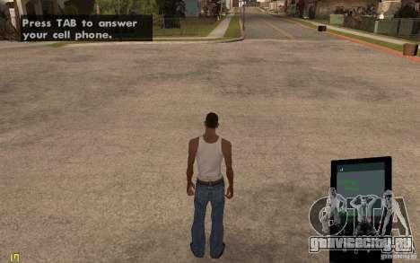 Телефон из GTA IV для GTA San Andreas