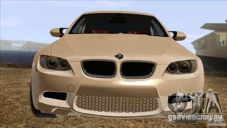 BMW M3 E92 2008 для GTA San Andreas вид справа