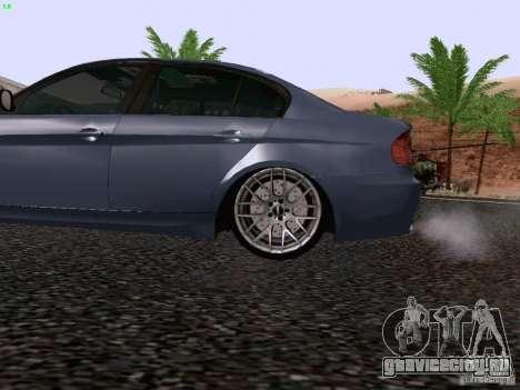 BMW M3 E90 Sedan 2009 для GTA San Andreas вид сзади