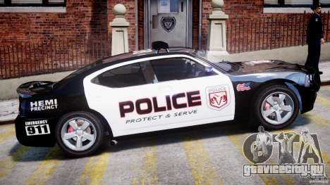 Dodge Charger NYPD Police v1.3 для GTA 4 вид снизу