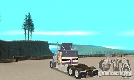 Peterbilt 359 для GTA San Andreas вид сзади слева