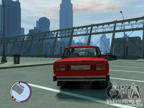 ВАЗ 2105 для GTA 4 вид справа