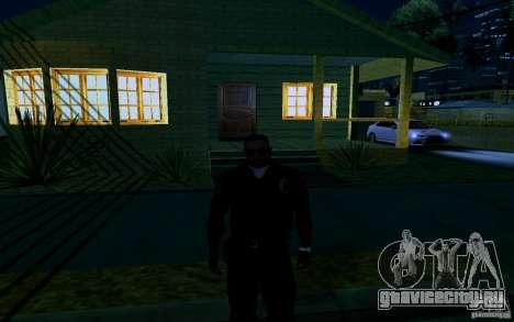 Новый дом Биг Смоука для GTA San Andreas одинадцатый скриншот