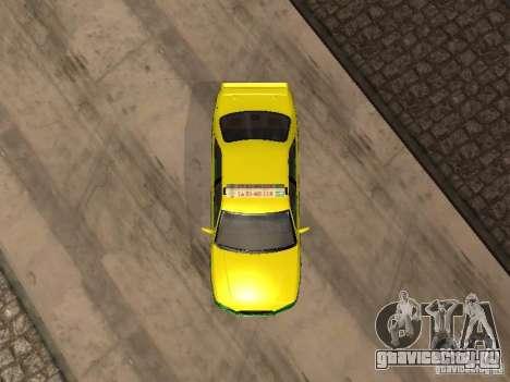Toyota Camry Thailand Taxi для GTA San Andreas вид сзади