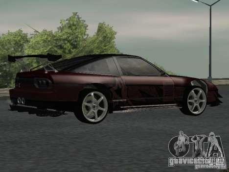 Nissan 240 SX для GTA San Andreas вид справа