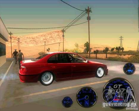 BMW E39 530d Sedan для GTA San Andreas вид слева