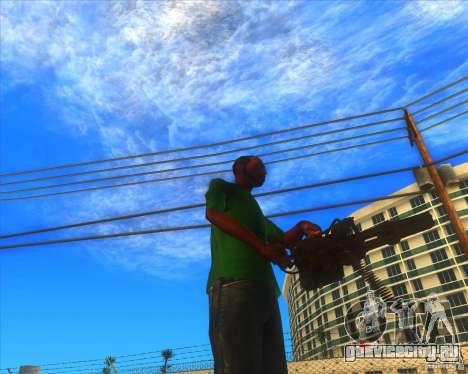 M134 minigan для GTA San Andreas четвёртый скриншот