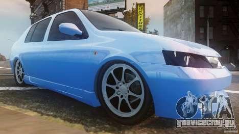 Renault Clio Tuning для GTA 4 вид изнутри