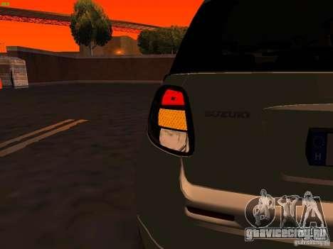 Suzuki SX-4 Hungary Police для GTA San Andreas салон