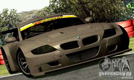 BMW Z4 E85 M GT 2008 V1.0 для GTA San Andreas вид сзади