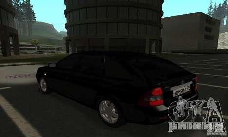 Lada Priora Hatchback для GTA San Andreas вид слева
