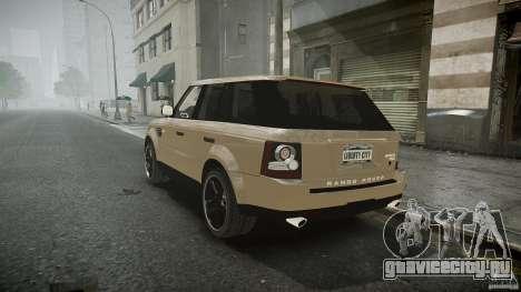 Range Rover Sport для GTA 4 вид изнутри