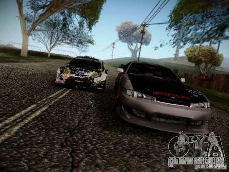 Nissan Silvia S14 Hell для GTA San Andreas вид сбоку