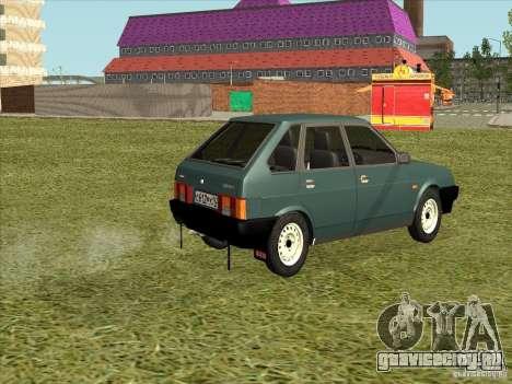 ВАЗ 2109 Final для GTA San Andreas вид слева