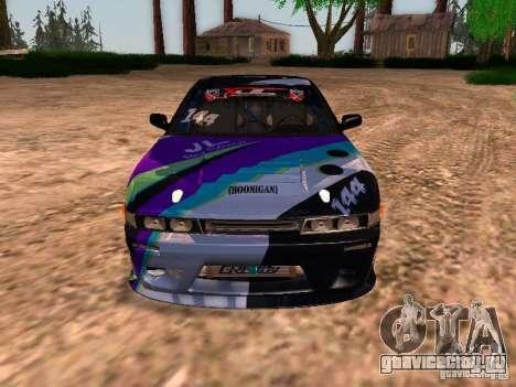 Nissan Sil80 Nate Hamilton для GTA San Andreas вид изнутри