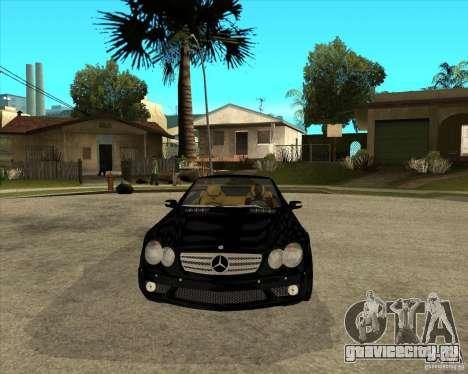 Mercedes Benz AMG SL65 V12 Biturbo для GTA San Andreas вид сзади