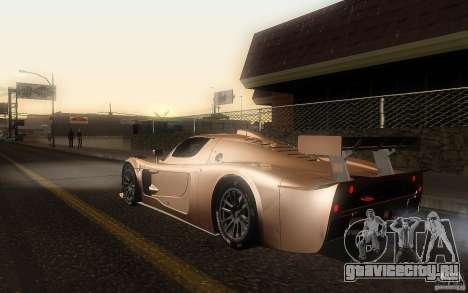 Maserati MC12 GT1 для GTA San Andreas вид слева