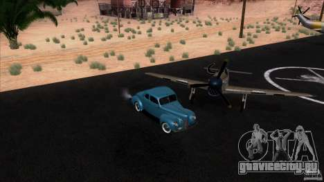 Ford Deluxe Coupe 1940 для GTA San Andreas вид справа