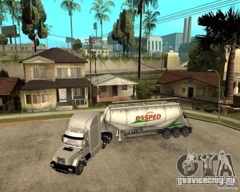 Патч прицепов v_1 для GTA San Andreas вид сзади слева