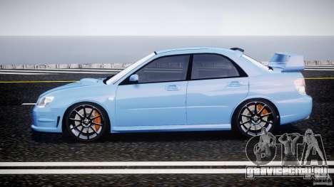 Subaru Impreza STI для GTA 4 вид слева