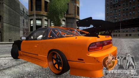 Nissan 240SX Korch для GTA 4 вид снизу