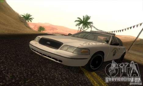 Ford Crown Victoria California Police для GTA San Andreas