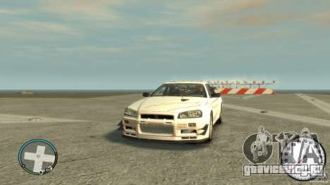 Nissan Skyline GTR R34 Mine s для GTA 4