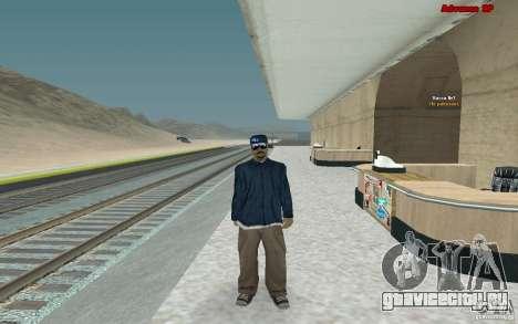 Новые скины для банды Varios Los Aztecas для GTA San Andreas второй скриншот