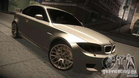 BMW 1M E82 Coupe 2011 V1.0 для GTA San Andreas вид сзади