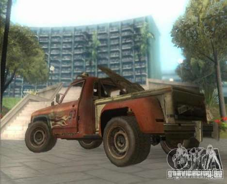 Roamer from FlatOut2 для GTA San Andreas вид слева