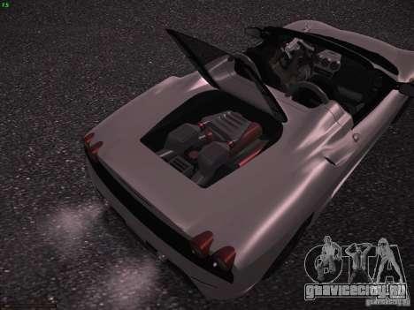 Ferrari F430 Scuderia M16 для GTA San Andreas вид сзади