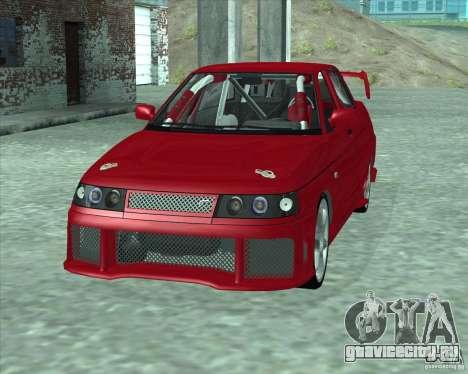 ВАЗ 21103 Уличный Тюнинг v1.0 для GTA San Andreas вид сзади слева