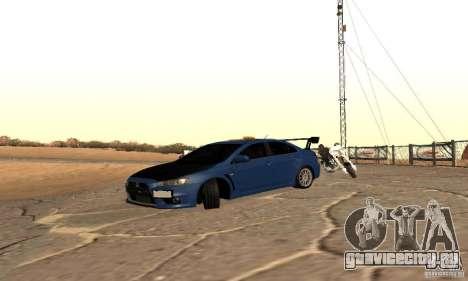 New Drift Zone для GTA San Andreas третий скриншот