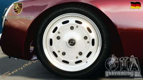 Porsche 550 A Spyder 1956 v1.0 для GTA 4 вид изнутри