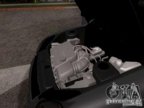 ВАЗ 2170 Приора для GTA San Andreas вид сверху