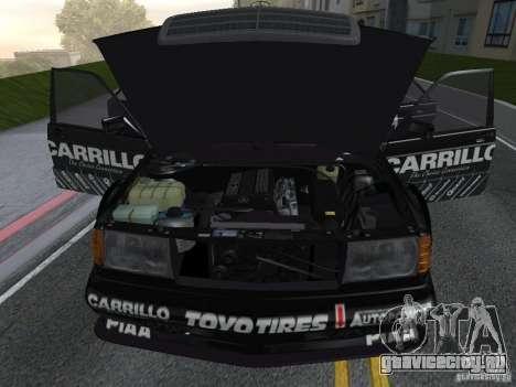 Mercedes-Benz 190E Racing Kit1 для GTA San Andreas вид справа