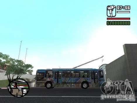 Marcopolo Torino GV Trolebus для GTA San Andreas вид слева