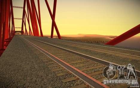 HD Рельсы для GTA San Andreas