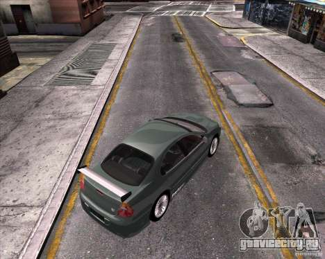 Chrysler 300M tuning для GTA San Andreas вид сзади