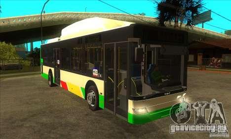 Mercedes Benz MAN Lions City CNG для GTA San Andreas вид сзади