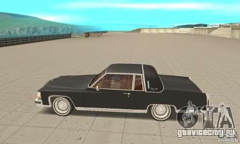 Cadillac Coupe DeVille 1985 для GTA San Andreas вид слева
